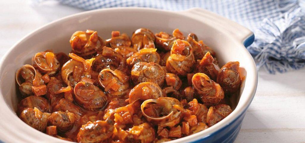 recetas de caracoles más conocidas